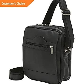 Amazon.com | Sandover Le Donne Leather Mens Day Bag 3 Colors Other Mens Bag NEW | Model LGGG - 5300 | | Luggage