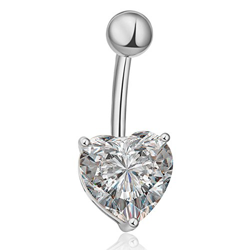 heart belly rings - 8