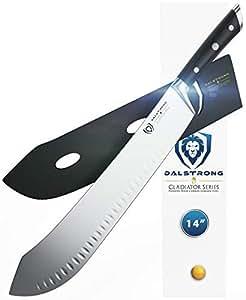 Amazon.com: DALSTRONG - Cuchillo de carnicero con punta de ...