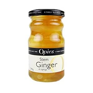 Opies Stem Ginger in Syrup (280g) - 3 Pack