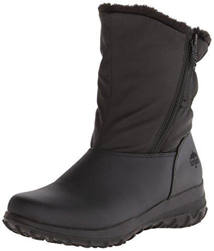 totes Women's Rikki Black Ankle-High Synthetic Boot - 11M