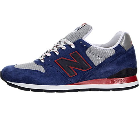 New Balance Men's Connoisseur East Cost Summer 996 Classic Blue/Grey/Red M996CMB (Size: 8.5) by New Balance