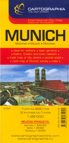 Munich {Munchen} (City Map)