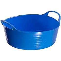 Red Gorilla Mini Flexible Shallow Tubtrug (10.5 pints) (Blue)