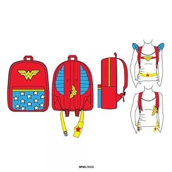 DC Comics Wonder Woman Costume Backpack  Amazon.co.uk  Luggage 8394d84d2c