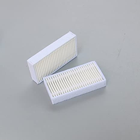 louu 10 partes/lote Robot Recambios Aspiradora filtro HEPA para ...