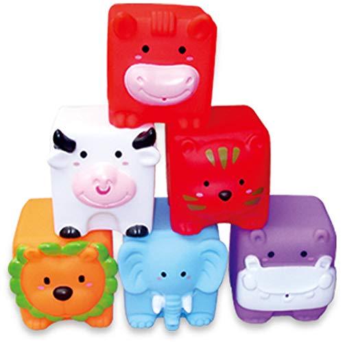 (Studyset 6Pcs/Set Water Spraying Small Baby Kids Bath Toys Bathe Room Water Fun Game Playing Toy B)