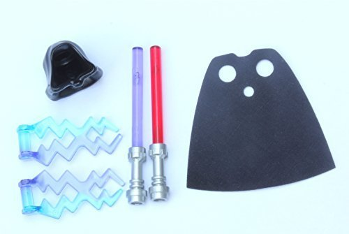Best LEGO® Star Wars Accessory / Weapon Pack #1 – Lightsabers & Cape
