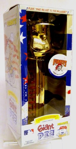 (Giant Pez Gold Plated Charlie Brown Pittsburgh Pirates - Limited Edition Dispenser)