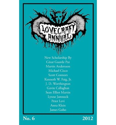 [(Lovecraft Annual No. 6 (2012))] [Author: Author S T Joshi] published on (August, 2012) ebook