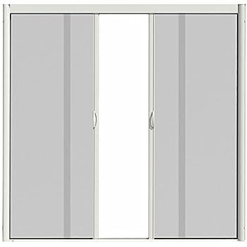 Casper Retractable Double Door Screen White Amazoncom