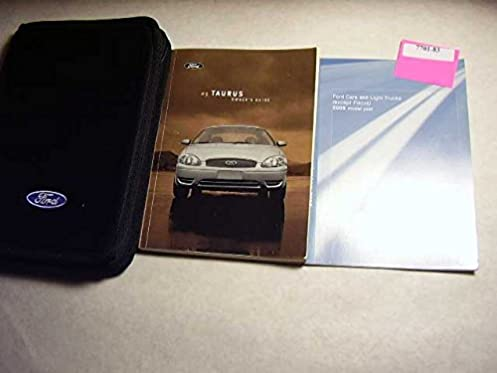 2005 ford taurus owners manual ford motor company amazon com books rh amazon com 2005 Ford Taurus Parts Manuals 2005 Ford Taurus Parts Manuals