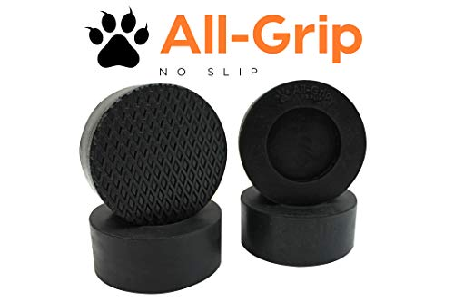 All-Grip | Premium 4-Pack | Anti-Vibration Anti-Walk Dryer Washer Rubber Pads | for All Washers and Dryers | Anti Slip Micro Grip