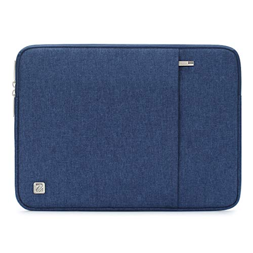 NIDOO 17 inch Laptop Sleeve Case Water-Resistant Protective Computer Cover Portable Bag for 17.3 Lenovo Legion Y730 / 17.3 Lenovo IdeaPad 320 321 300 330 / MSI GS73VR Stealth Pro/Acer/ASUS, Blue