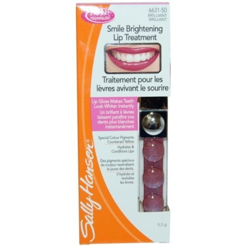 Sally Hansen Smile Brightening Lip Treatment, Brilliant, 0.18oz/5.2g