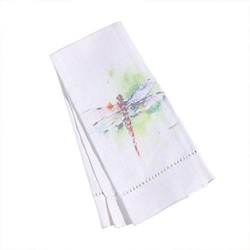 Dean Crouser Garden Visitor Dragonfly Tea Towel
