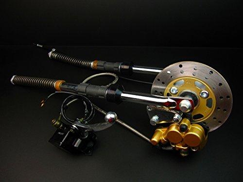 【NO4150】モンキー/ゴリラ フロントディスクブレーキキット 525mm   B00RWWYRX0
