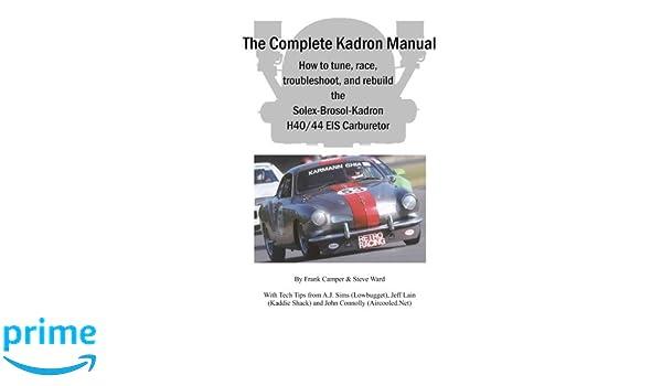 The Complete Kadron Manual: Amazon.es: Frank J Camper, Steve Ward: Libros en idiomas extranjeros