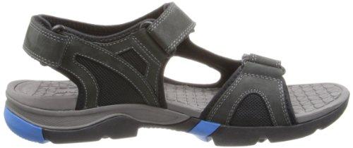 CLARKS Men's Wave Tour Sandal Black/Blue buy cheap 100% authentic OS26c6iE
