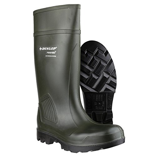 Wellingtons 43 39 Self 44 Dunlop Lined Size Green 41 42 Pull On Verde 40 qBnwgSUT