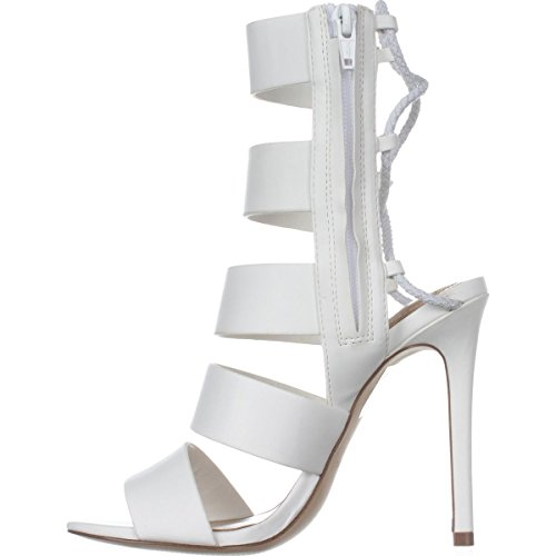 ALDO Womens Hawaii Open Toe Casual Strappy Sandals, White, Size 7.0