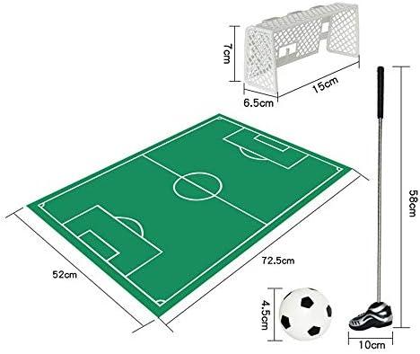 キッズスポーツ ゴルフ ゴルフサッカーゲーム玩具セットパットマットゴルフゲーム面白い玩具トレーニングアクセサリー用男性女性と子供 (色 : As picture, サイズ : 72.5*52cm)