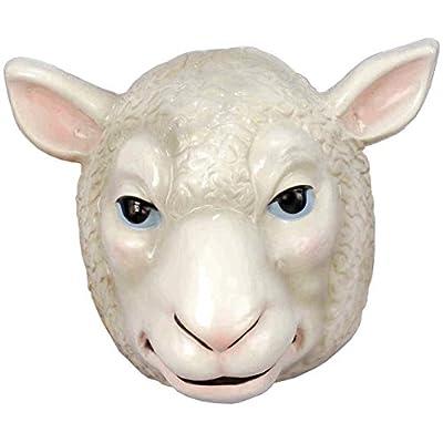 Forum Novelties Child's Plastic Animal Mask, Sheep: Toys & Games