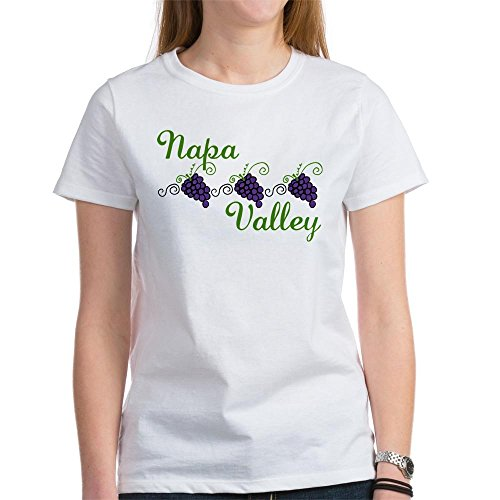 CafePress - Napa Valley Women's T-Shirt - Womens Cotton T-Shirt, Crew Neck, Comfortable & Soft Classic Tee