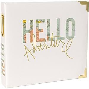 Project Life Heidi Swapp Scrapbook Album - 8 x 8 inch - Hello Adventure
