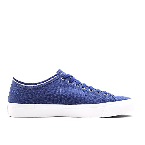 Fred Perry Kendrick Tipped Cuff Pigment Dyed Canva - - Hombre Blue