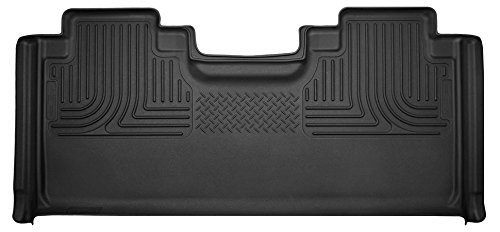 Husky Liners 53451 Ford X-Act Contour Floorliners Rear Black