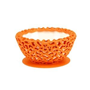 Boon Wrap Protective Bowl Cover, Tangerine