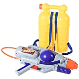 Liberty Imports Super Water Gun with Big Backpack Tank | Pump Soaker Blaster 3500 High Capacity Long Range Summer Outdoor Toys for Kids Adults (5205ml /176 Oz)