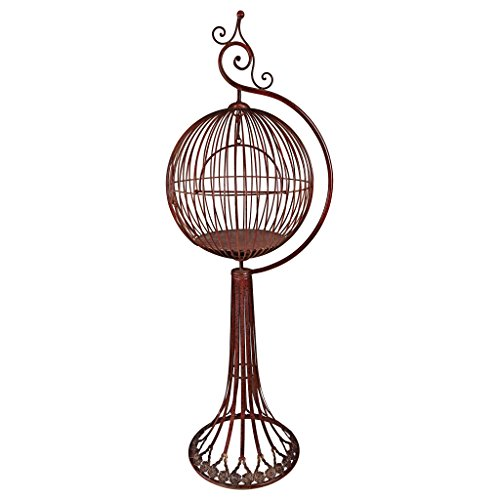 Design Toscano Sun Porch Victorian Bird Cage with Stand