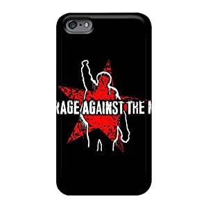 Excellent Cell-phone Hard Cover For Iphone 6 (Qoc11911QxHZ) Allow Personal Design Trendy Rise Against Image