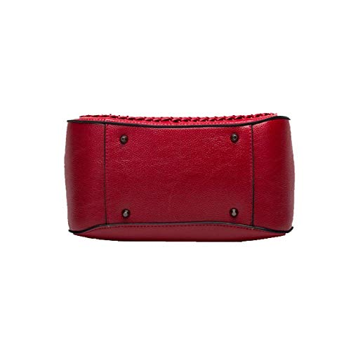 Red Casual Yxpnu Main bandoulière à Shoulder carré Sac Femme 887w4q