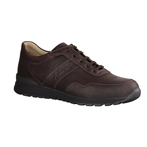 Finn Comfort Mens Prezzo Leather Shoes Dark Brown