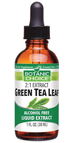 Essential Oil Tea Green (Green Tea Leaf, Energy Booster, Strong Antioxidant, Weightloss support, Alchohol Free Liquid Extract, 1 Fluid Ounce)