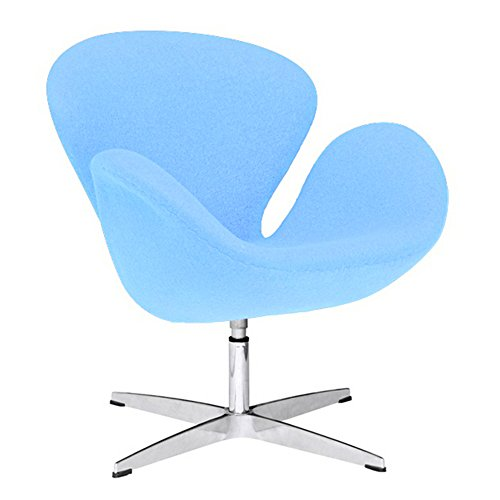 Fine Mod Imports FMI1140-lightblue Swan Chair Fabric, Light Blue 41oW9vvNjUL