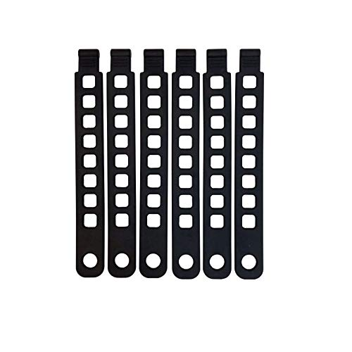 Hollywood Racks Rubber Strap (Pack of 6) ()