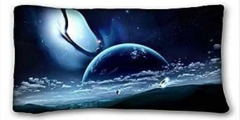 "Custom ( Nature Landscapes landscapes owen New Zealand National Park Mount ) Pillow Covers Bedding Accessories Size 20""X36"" suitable for Queen-bed PC-Purple-24045"