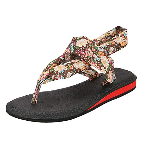 - Midress Summer Leisure Beach Walk Shoes Fashion Camouflage Yoga Sling Low-Slip Flat with Sandals