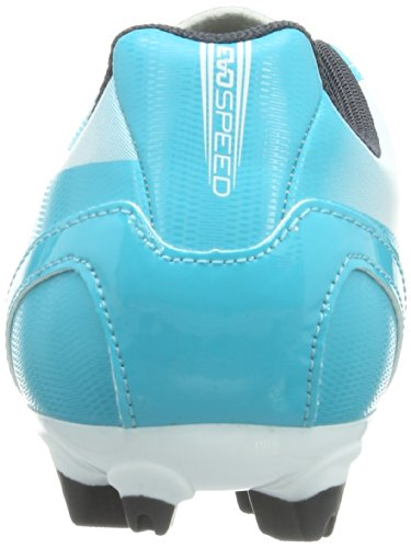 PUMA evoSPEED 5.2 FG Jr 102887 Unisex-Kinder Fußballschuhe Mehrfarbig (beetroot purple-bluebird-white 07)