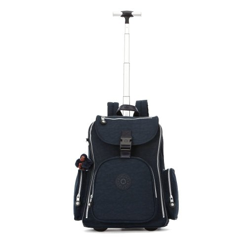 Kipling Luggage Alcatraz Wheeled Backpack with Laptop Protection, True Blue, One Size by Kipling