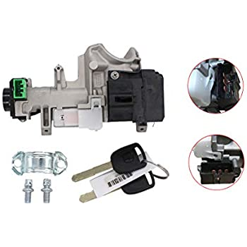 Amazon.com: labwork Ignition Keys Switch Lock Cylinder ...