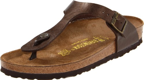 Birkenstock Women's GIzeh Thong Sandal, Graceful Toffee, 37 M EU/6-6.5 B(M) US