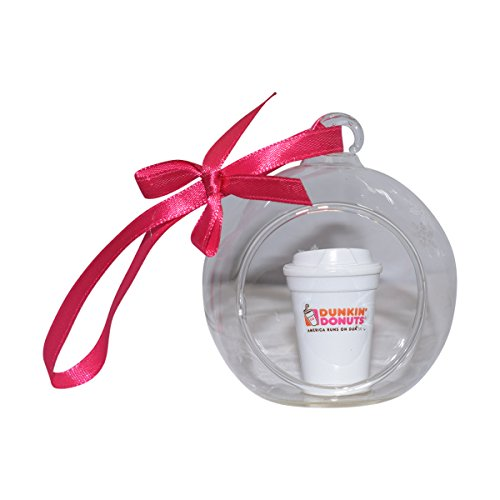 Dunkin Donuts Limited Globe Coffee Cup Christmas Ornament for Hoiday Decoration by Dunkin' Donuts