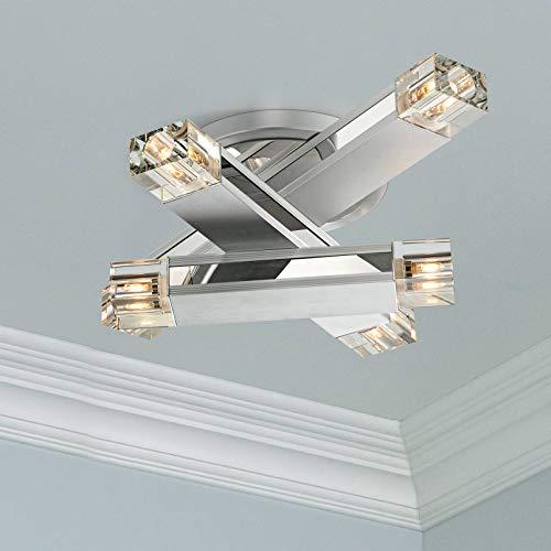Possini Euro Design Three Stacked Rods Ceiling Light Fixture - Possini Euro Design