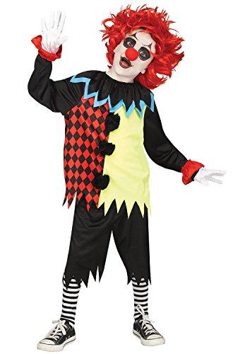 Freakshow Clown Child Costume - (Clown Clothes)