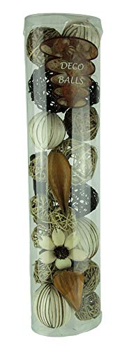 Things2Die4 Green Beige & Brown Natural Mixed Material Decorative -